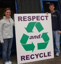 Student-initiated recycling program