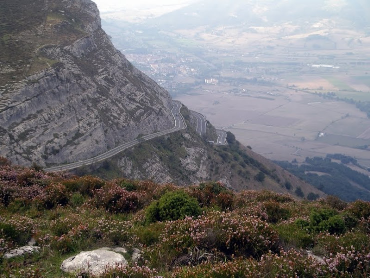 Monte Santiago. Monumento natural (Burgos)