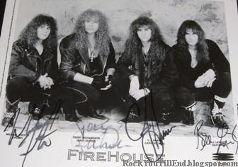 Fire House autographed photo