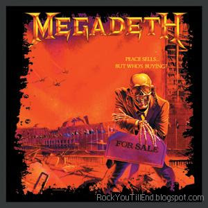 Megadeth album peace sells but who's buying
