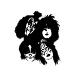 rock band Kiss sketch