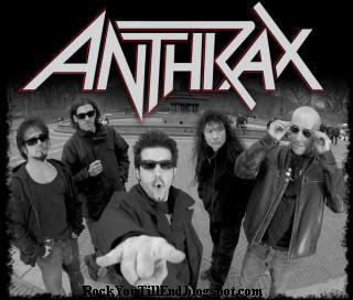 Anthrax metal band