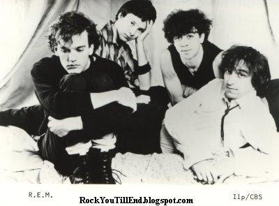 R.E.M. Early Photo