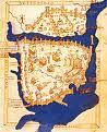 La Cartografía de Constantinopla, de Buondelmonte, en distintos manuscritos.