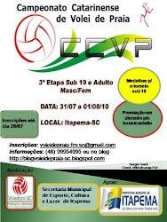 3ª Etapa CCVP  Itapema-SC