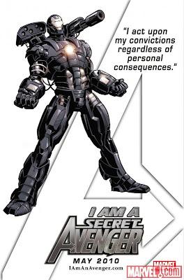 SECRET AVENGERS: The Heroic Age Warmachinesecretavenger