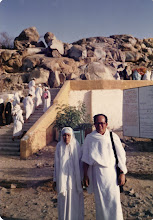 Pak Cik Lin bersama Tok Om di Mekah