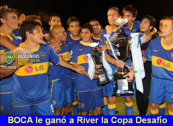 Boca Jrs. el mejor club de Argentina