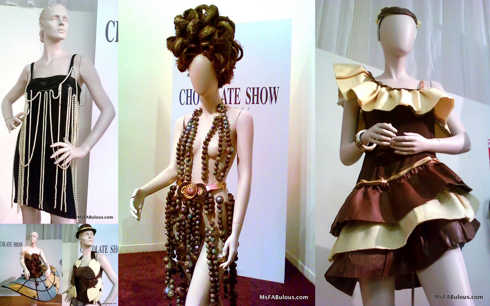 MS. FABULOUS: Chocolate Fashion Show fashion design, indie ...