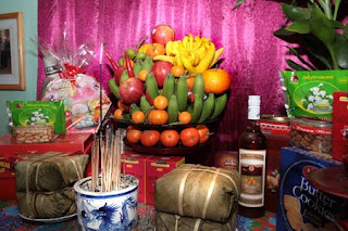 Five fruits tray on Tet - Beautiful culture of Vietnamese custom