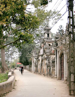 Cu Da village - A famous trade village make vermicelli in Hanoi