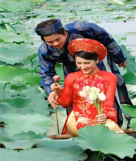 Vietnam oriental robe