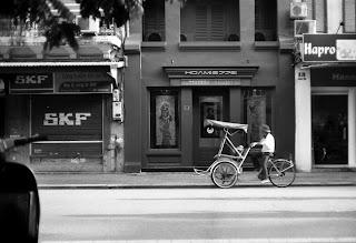 Hanoi cyclo-Hanoi pedicab
