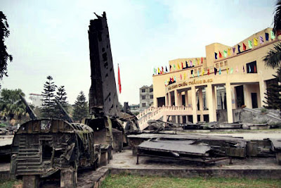 B52 Victory Museum - The place save part of Hanoi