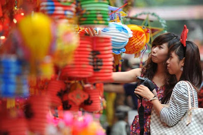 The nice pictures before Mid Autumn festival day