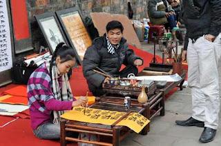 Scholars street greet new Spring