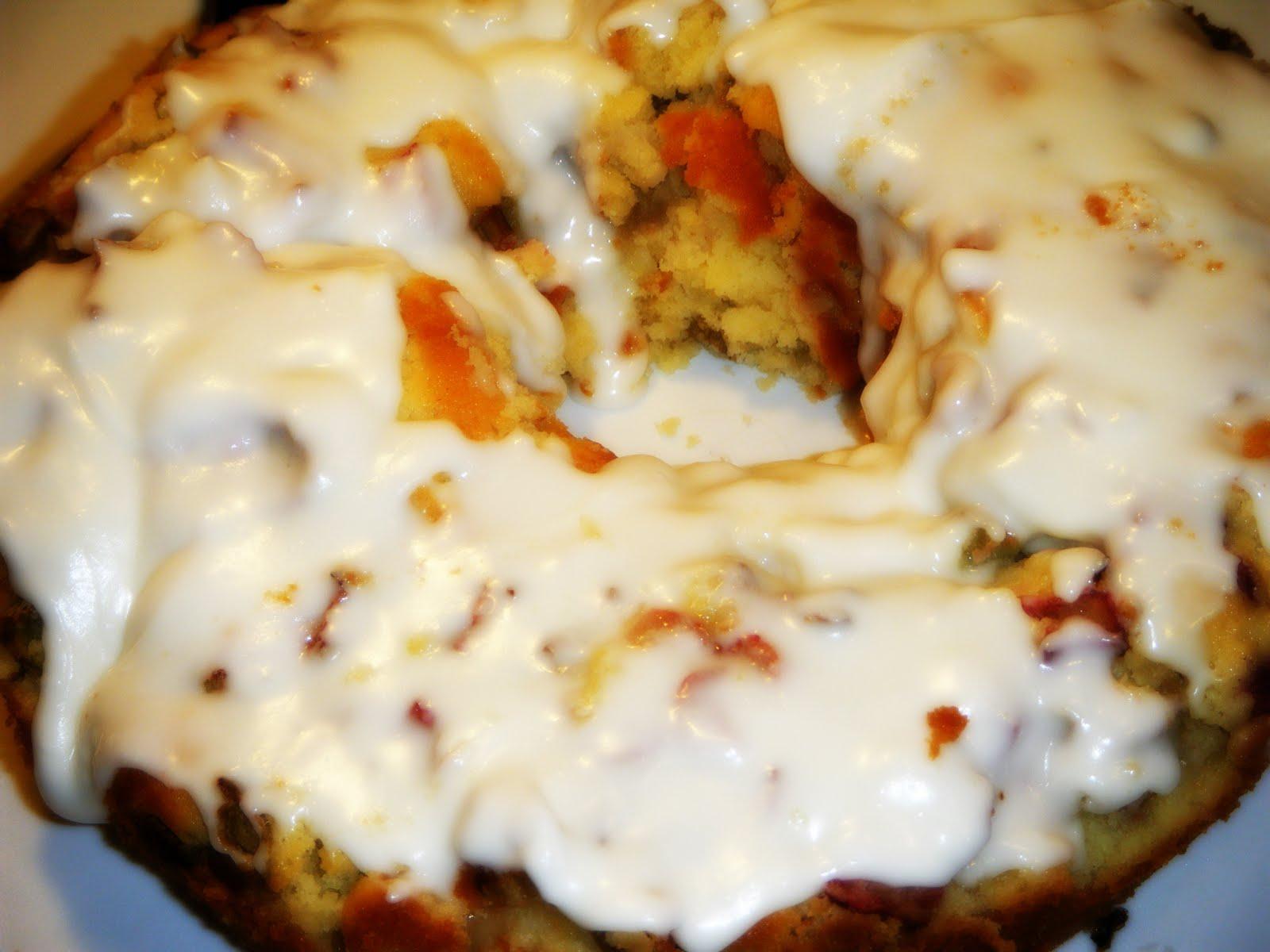 Lemon Buttermilk Rhubarb Bundt Cake Recipe