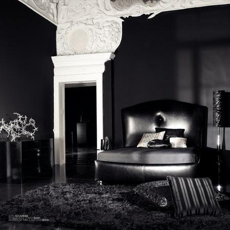 Noir_Accademia_bed, luxury furniture, bedroom furniture
