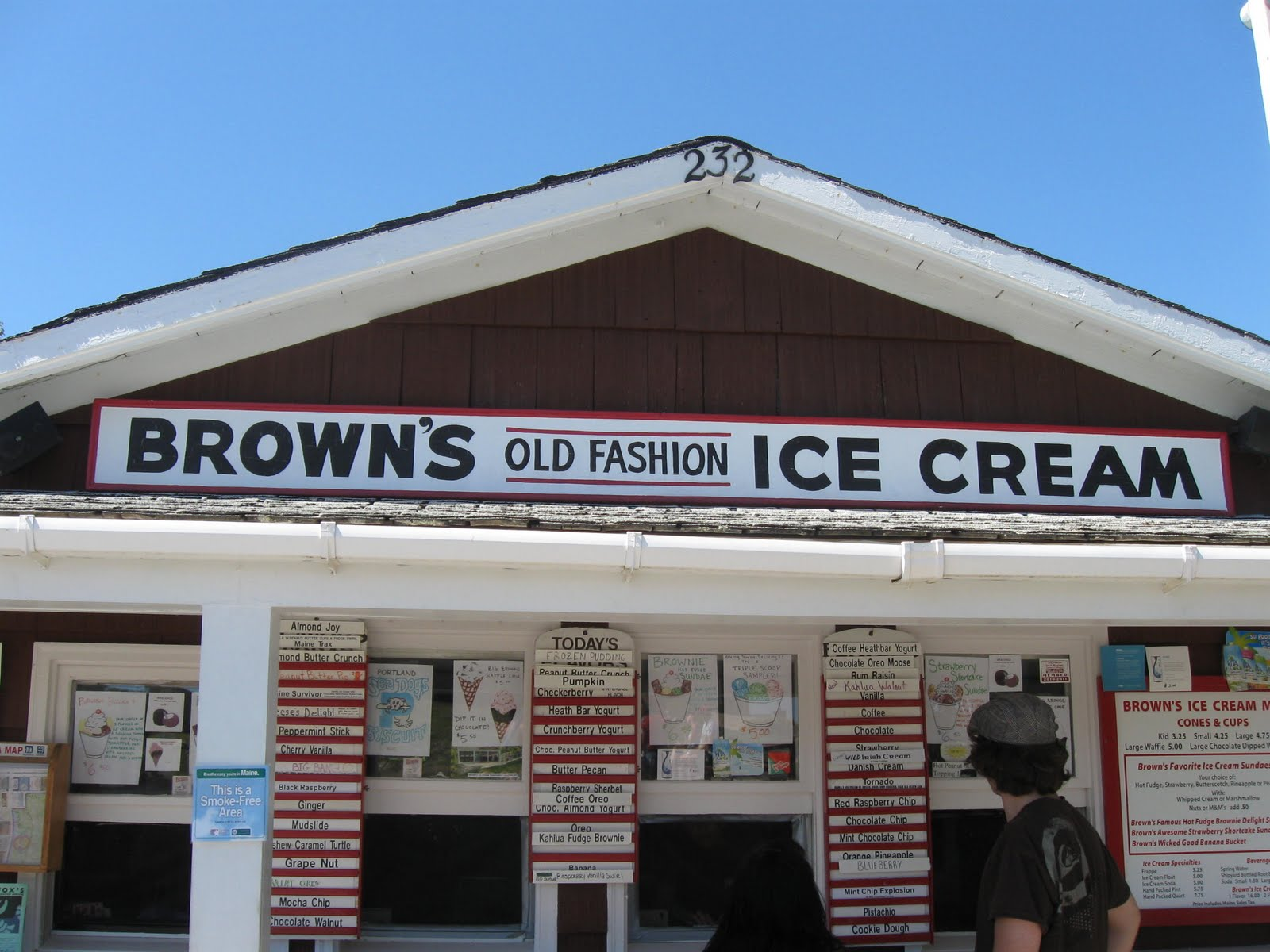 hungry couple brown 39 s old fashioned ice cream