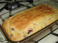 Low Fat/Low Sugar Orange Cranberry Bread