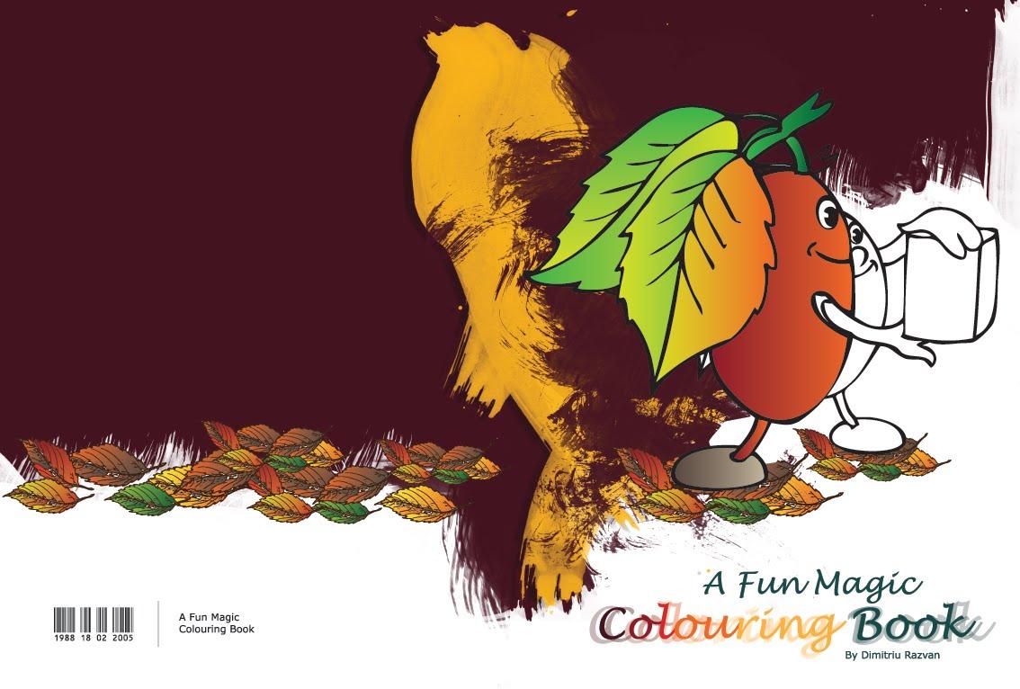 colouring book - A Fun Magic Coloring Book
