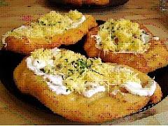 LANGOS (Potato cake)