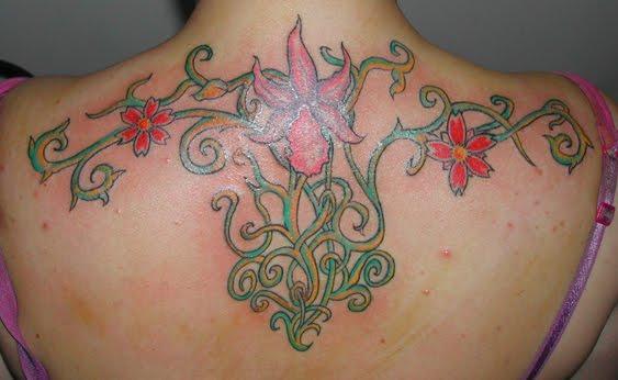 tattoo fiori. Fiori
