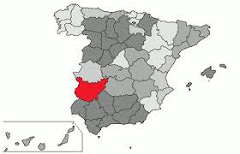 Situación de Badajoz