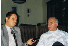 المؤلف مع الهاشمي الشريف