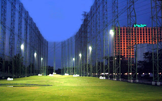 Golf Driving Range of Chaophya Park Hotel Bangkok