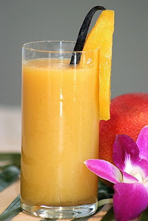 Mango Juice is Thai Popular Drink for Foreign
