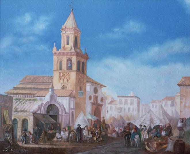 LA SEVILLA DE AYER. Iglesia Omnium Santorum de Sevilla en el s. XIX
