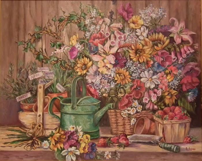 BODEGON- Bodegón de Flores