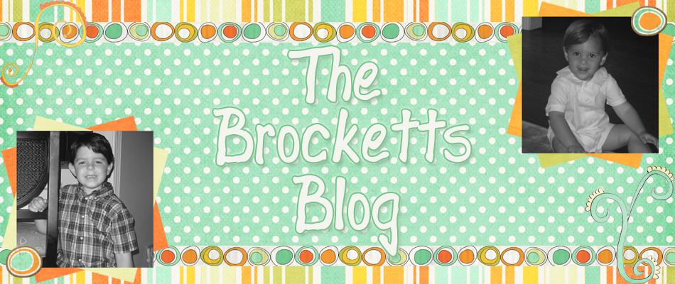 The Brocketts Blog