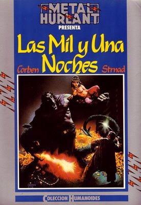 Comics: Las Mil y Una Noches - Richard Corben - Jan Strand (1980) [56 MB | CBR | Español]