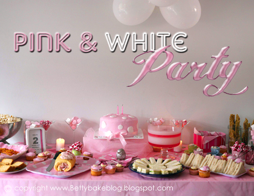 PINK WHITE POLKA DOT PARTY