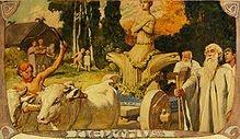 Enguz, dios godo de la tierra y los campos