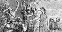 Personajes del cantar de Waltario: Equifrido el sajón