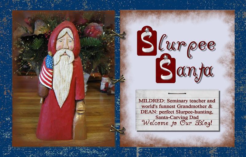 Slurpee Santa