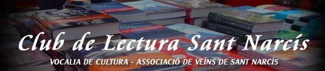 """CLUB DE LECTURA """"SANT NARCÍS""""1"""