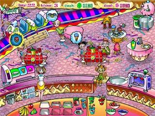 Playing Game Anna's Ice Cream