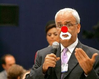 Image result for mahmoud abbas clown