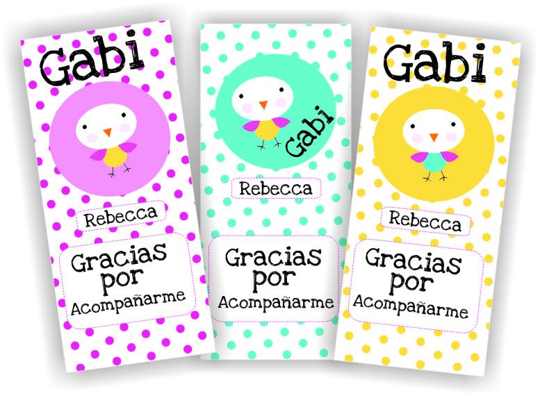 Tarjetas baby shower agradecimiento - Imagui