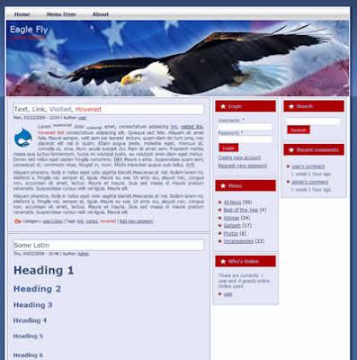 drupal patriotic theme