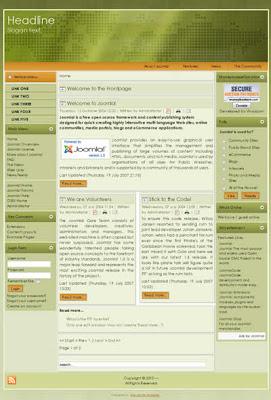 free 3 column joomla template