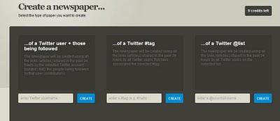 Paper.li daily newspaper website