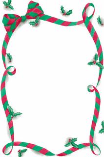 Bordas De Natal Coloridas