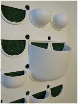 como decorar paredes con plantas