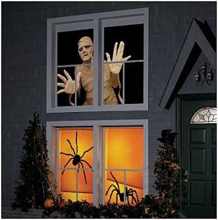 Decoraci n para halloween 2008 decora decora - Decorar casa para halloween ...