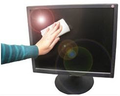 como limpiar una pantalla plana, lcd o plasma